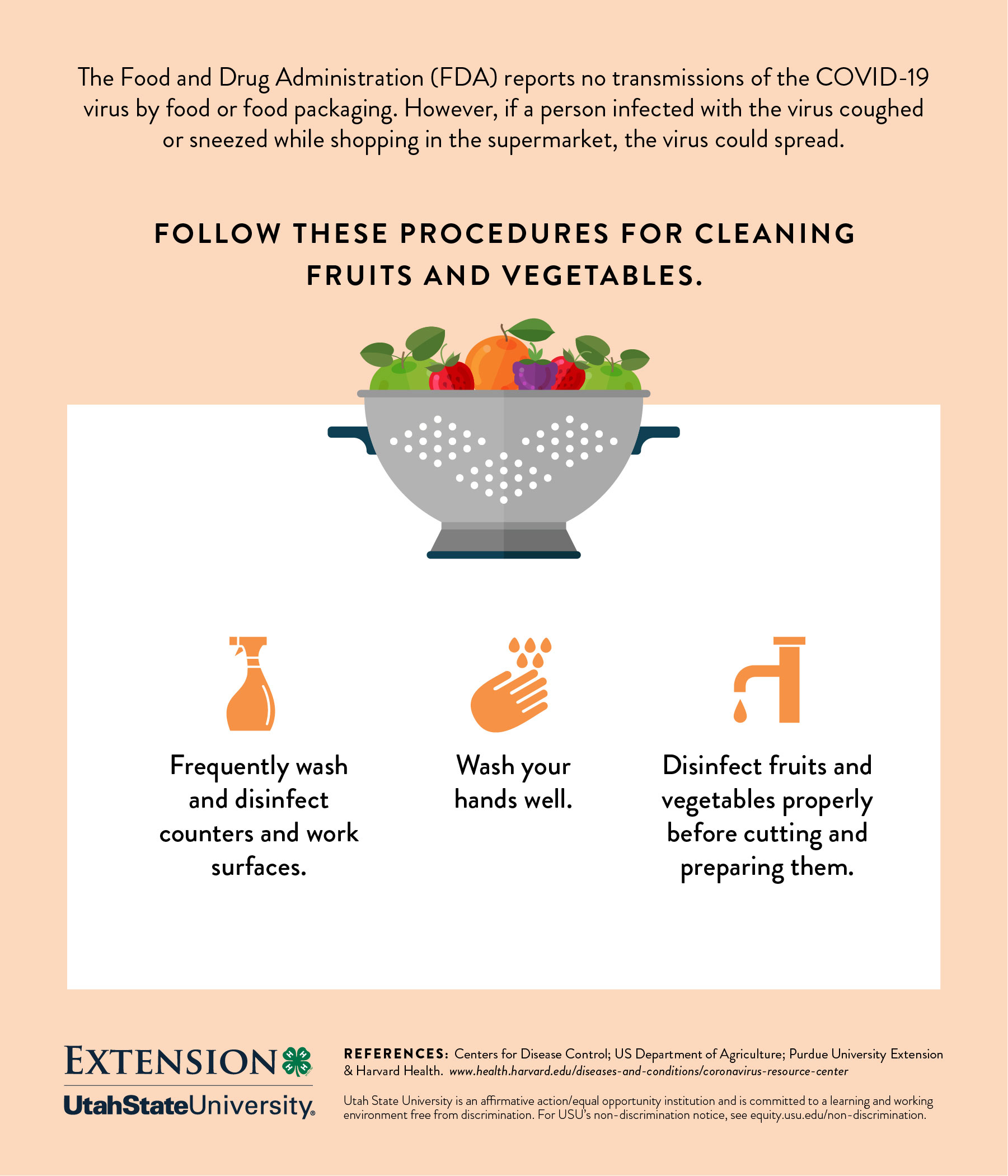 Cleaning fruits and veggies