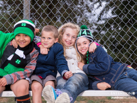 Group of young children in 4-H branded clothing