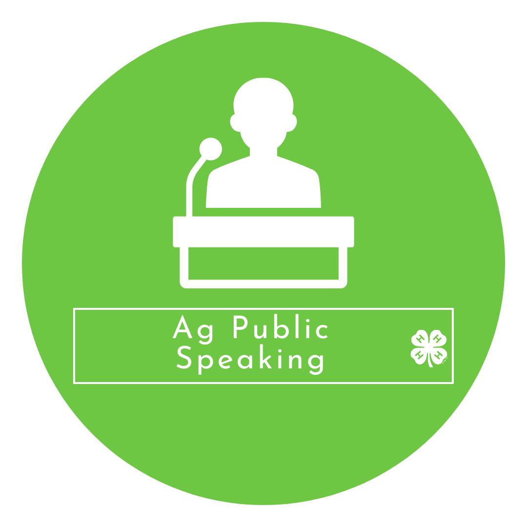 Ag Public Speaking