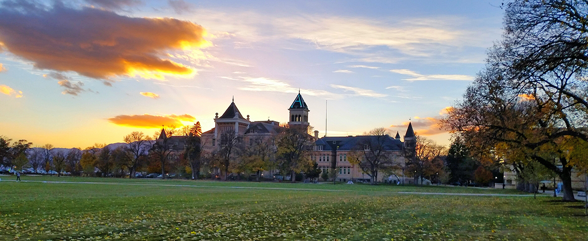 Old Main Sunset - Casey Saxton