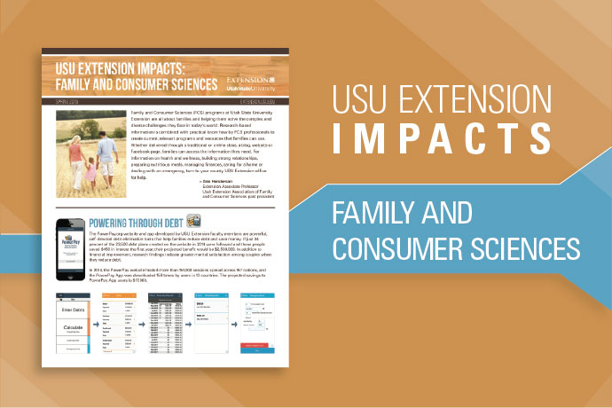Family Consumer Sciences Impacts
