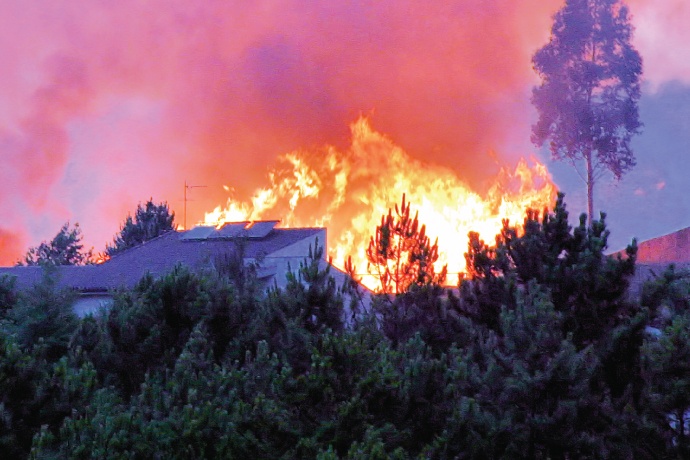 Prevent Wildfire Damage to Homes