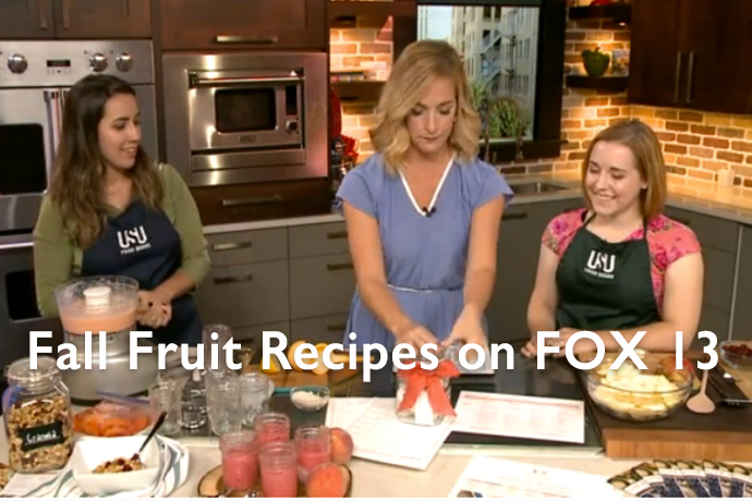 Fall Fruit Recipes: Peach Sorbet, Apple Cranberry Crisp & Granola