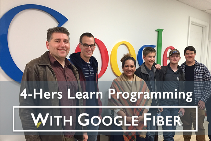 USU Extension 4-H Members Learn Computer Programming with Google Fiber