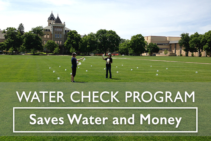 Water Check Program