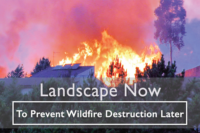 Landscape Now to Prevent Wildfires