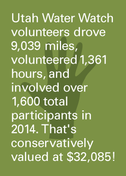 UWW Volunteer Stats