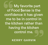 Food Sense Green Quote