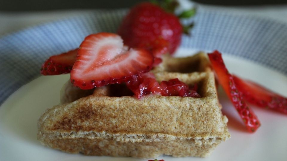 Almond Whole Wheat Toaster Waffles