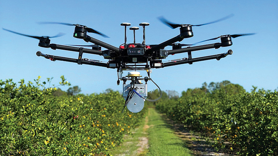 Use of UAV in Commercial Vegetable and Fruit Production