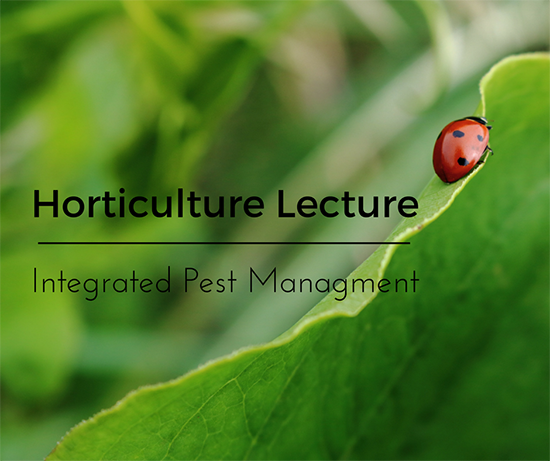 Hort Lecture
