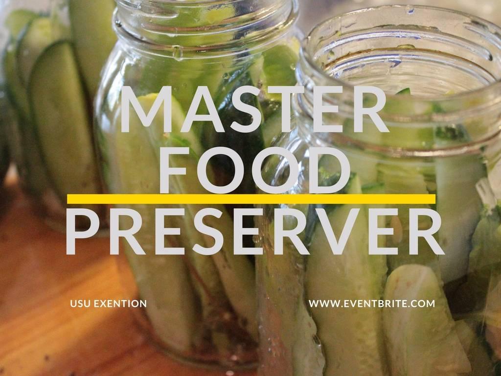 Utah Master Food Preserver