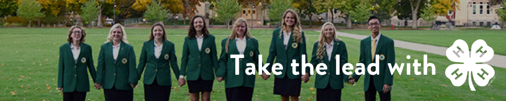 Youth Leadership: Take the lead with 4h