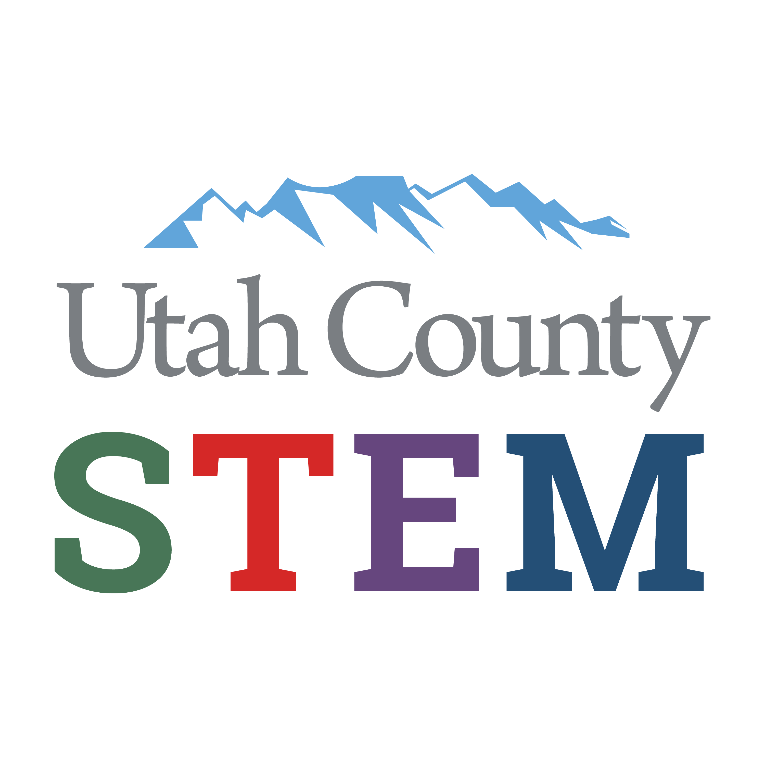 Utah County STEM logo