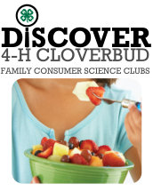 Cloverbud: Family Consumer Science