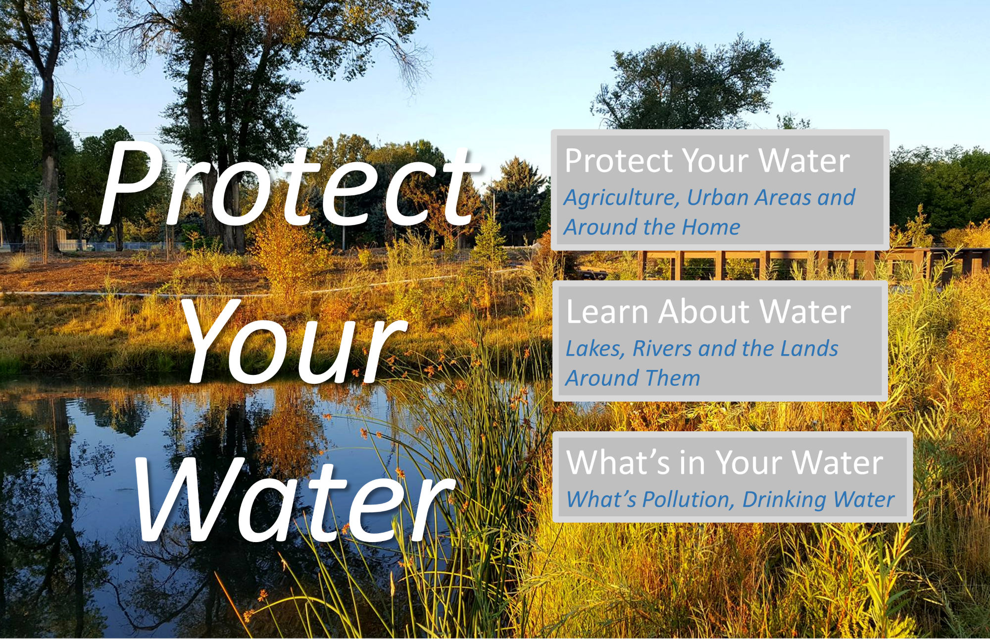 Protect Your Water