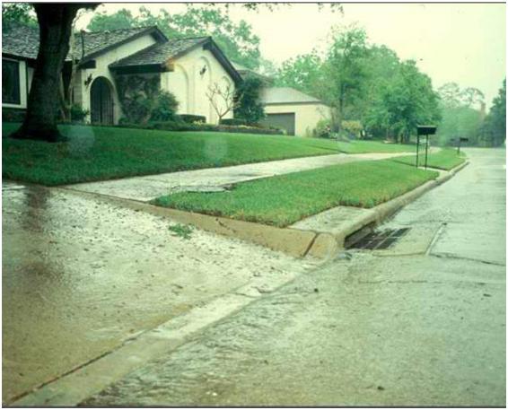 Driveway runoff