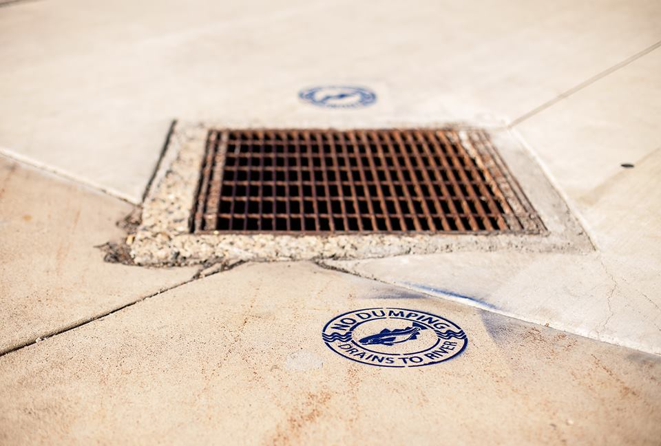 Protect stormdrains
