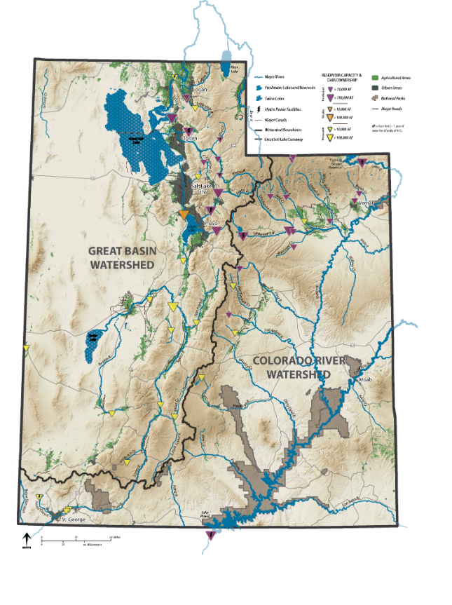 Utah Major Watersheds