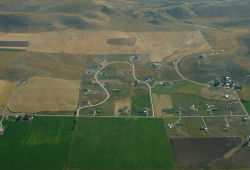 land development near Preston, Idaho